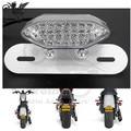3 colors available universal 12V motorcycle brake light LED for yamaha honda suzuki motorbike Brake rear Stop Turn Signal moto
