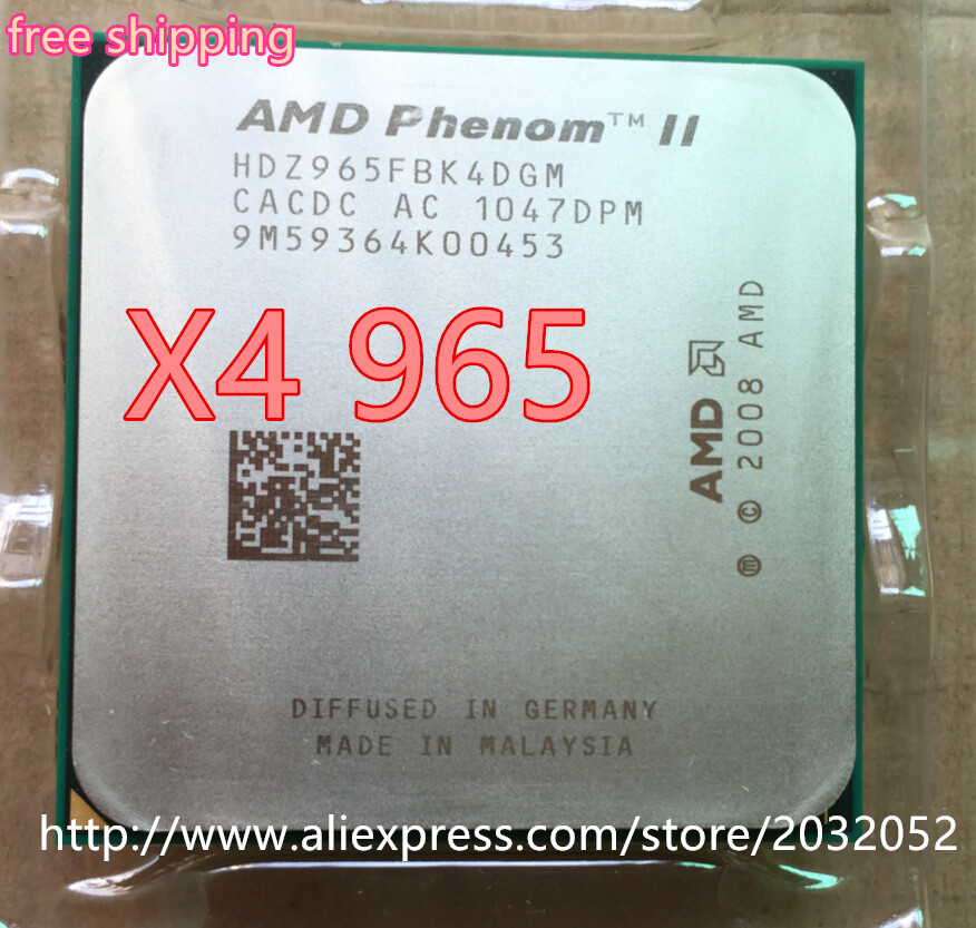 Amd Phenom Ii X4 965 Processor 3 4ghz 6mb L3 Cache Socket Am3 Quad Core Scattered Pieces Cpu X4 965 Can Work Phenom Ii X4 965 X4 965phenom Ii X4 Aliexpress