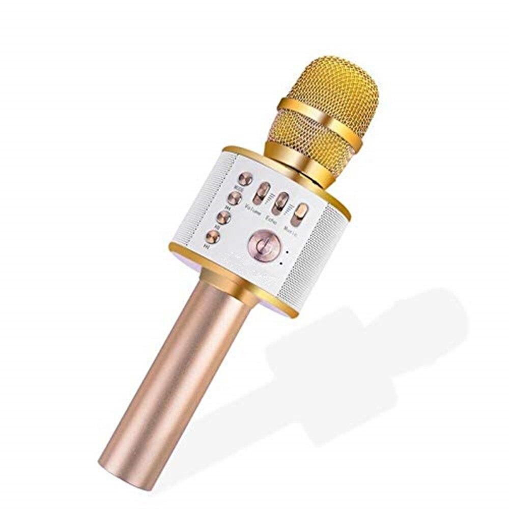 Drahtlose bluetooth mikrofon professionelle kondensator karaoke mic radio mikrofon mikrafon studio aufnahme studio für computer