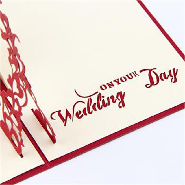 Wedding 3D Postcard