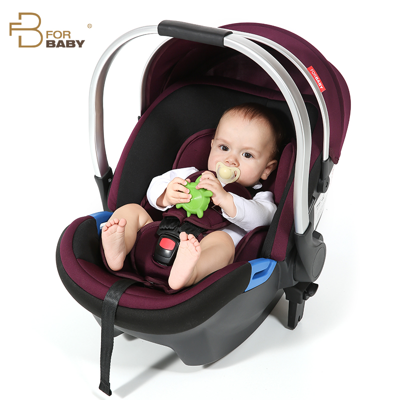 The New Forbaby Basket Type Car Seat Newborn Infant Carrier Vehicle Baby Cradle free ship brand new safe neonatal basket style car seat infants handle basket seat newborn babies car safety seats free shipping