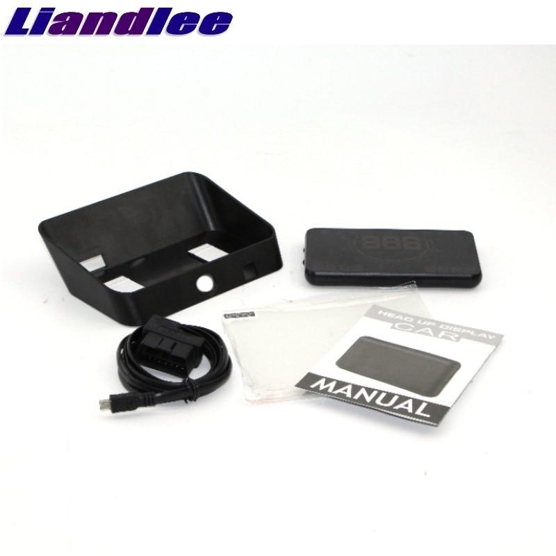 Liandlee HUD  For Hyundai Kona Starex Nexo Sonata Santa Fe Tucson Digital Speedometer OBD2 Head Up Display Big Monitor Racing HUD family