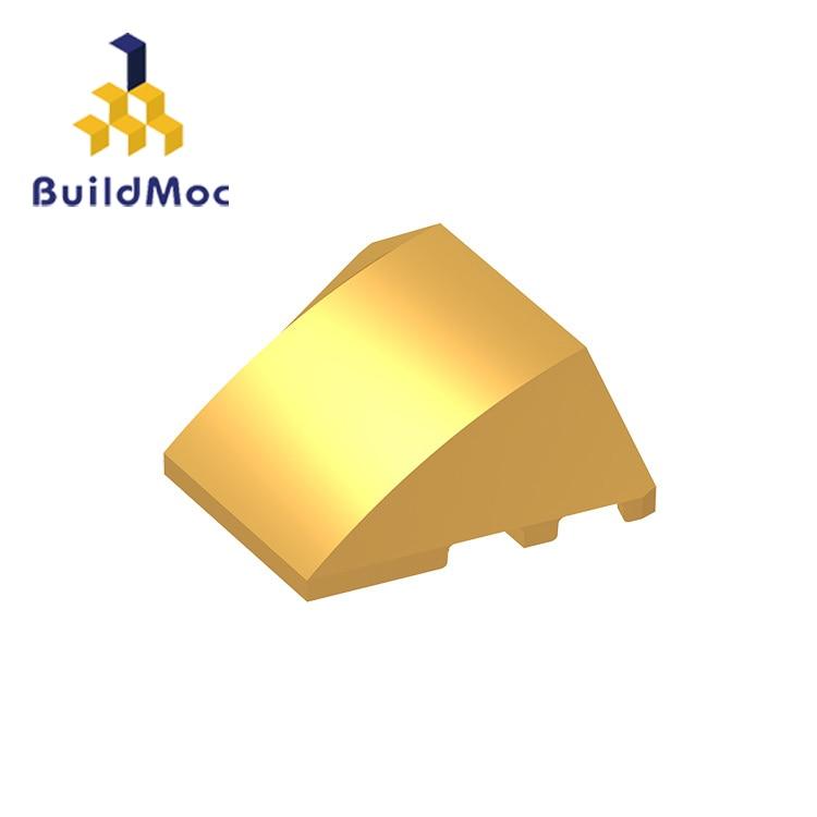 BuildMOC Compatible Assembles Particles 64225 4x3 For Building Blocks Parts DIY LOGO Educational Creative Gift Toys
