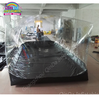 Inflatable Car Shelter Storage Showcase Dust Proof Tent / Car Storge Capsule Model Showcase Made In China