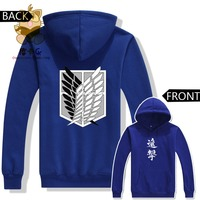 Attack On Titan New Season Warm Hoodies Attack On Titan Fans Costume High Quality Hoodies AC216