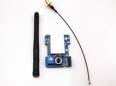 2.4G CC2500 A7105 Module TX multiprotocole Flysky Frsky Devo DSM2 avec antenne