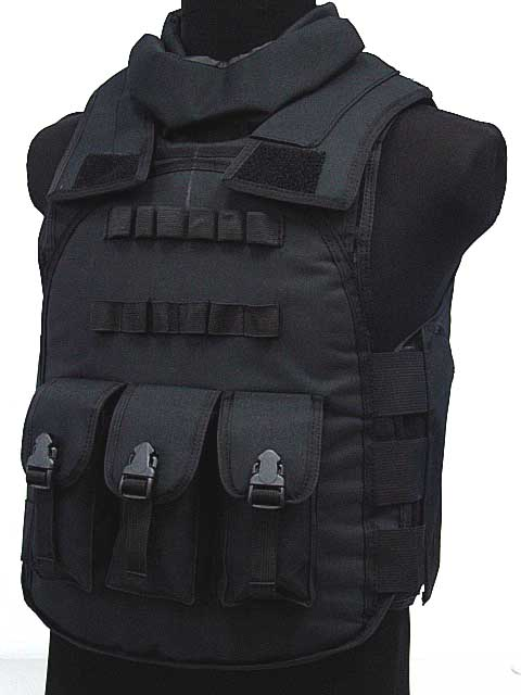 Hot selling Jiepolly military vest Four In One Tactical Vest Top Quality Nylon Airsoft Paintball Combat
