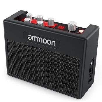 Ammoon pockamp ギターアンプ 5 ワットエレキギターアンプ内蔵マルチエフェクト 80 ドラムリズムと aux 入力ヘッドフォン出力