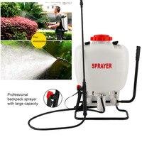 15L Pesticiden Tank Spuit Agrarische Chemicaliën Spray Montage Wit Automatische Verstelbare Rugzak Tuin Boerderij Gereedschap