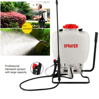 15L Pesticides Tank Sprayer Agricultural Chemicals Spray Assembly White Automatic Adjustable Backpack Garden Farm Tools