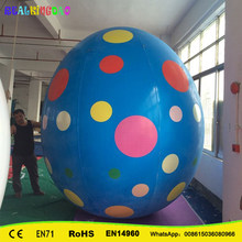 Giant Inflatable Easter Eggs balloon Cartoon for event decoration inflatable kinder easter egg ball PVC inflatable sky balloon(China)