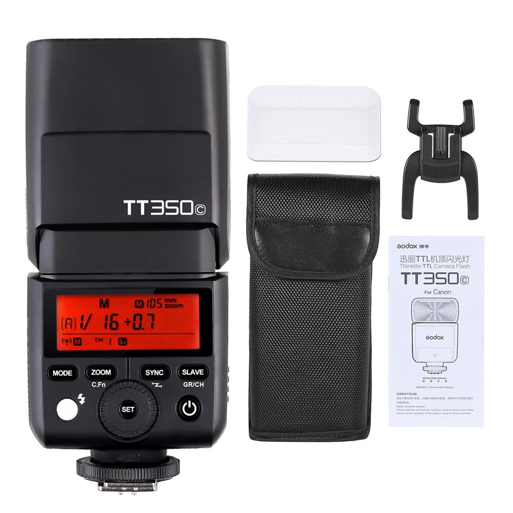 Godon Mini Thinklite E-TTL TT350C жарқылдығы жоғары - Камера және фотосурет - фото 6