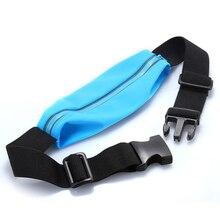 Sports Running Bag Belt Touch Screen Universal Waterproof Waist Pockets Case Phone Cycling Waist Bags