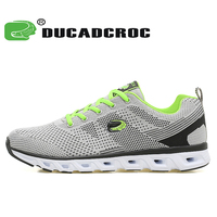 Ducadcroc Men S 2017 Light Running Shoes Breathable Athletic Sneakers Comfortable Sports Walking Shoes Zapatillas Hombre