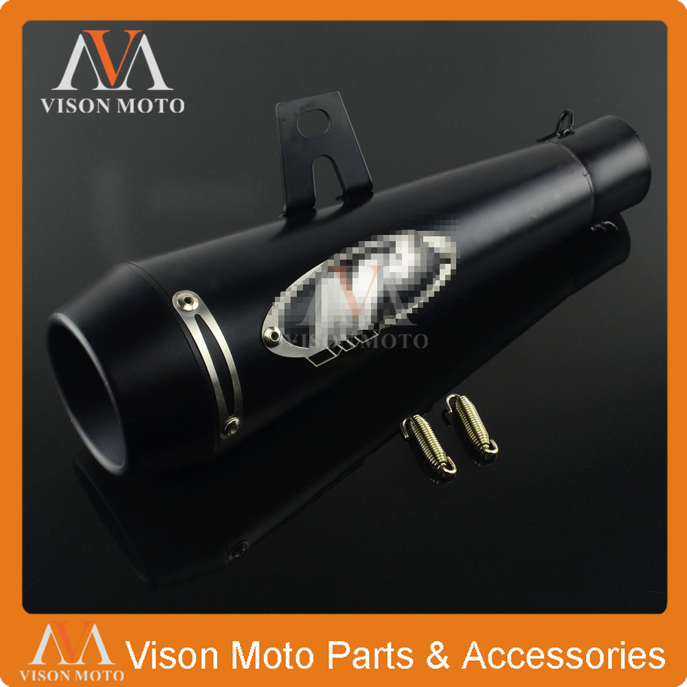 Motorcycle 51MM Exhaust Pipe Muffler Carbon Fiber Pipe For YAMAHA HONDA KAWASAKI KTM DUCADI SUZUKI M4 ZX6R CBR600 CBR1000 free shipping motorcycle accessories colorful motorcycle muffler carbon fiber exhaust pipe for kawasaki ninja650 er6 z750 z1000