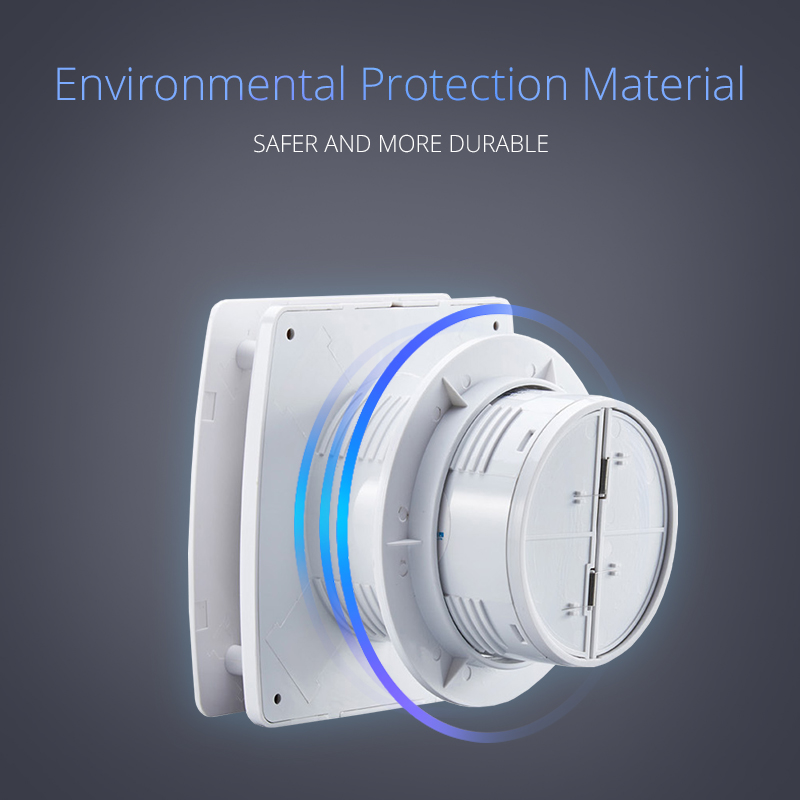 220V 4/6inch Exhaust Fan Home Bathroom Kitchen Bedroom Toilet Low Noise Ventilator Fan Hotel Wall Silent Extractor Exhaust Fan