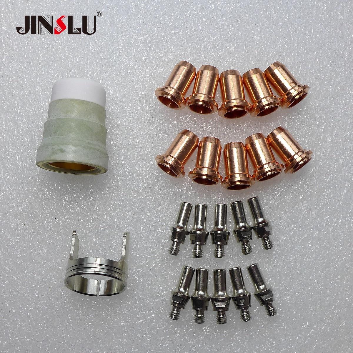 Nozzle Tip Electrode Kit Fit Nozzle Tip Electrode fit FUBAG PLASMA 65 T 68 443 1 PB P60 Torch Plasma Cutter