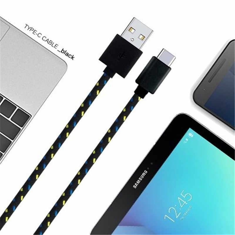 USB Type c câble de USB c de charge rapide type-c cordon de données chargeur de téléphone pour Xiao mi mi note 10 pro Huawei Mate 30 USB c câbles de harger