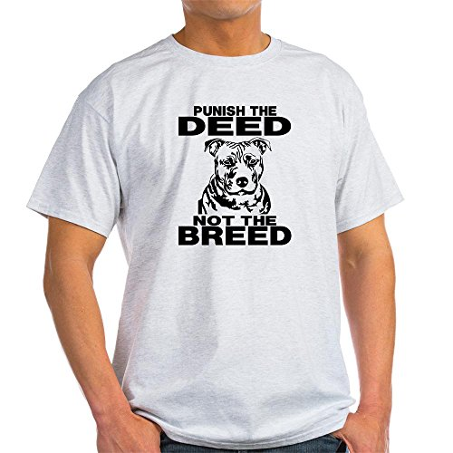 PUNISH THE DEED NOT THE BREED Light T-Shirt - 100% Cotton T-Shirt