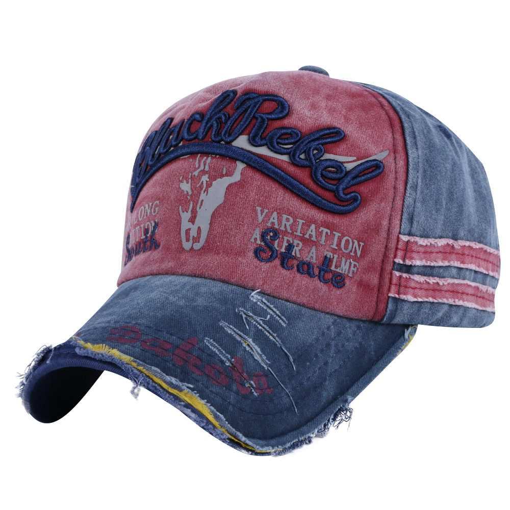 f9988e71d31d7e ... OHCOXOC new fashion women men baseball cap Washable style caps  embroidery letter sports hats unisex cotton ...