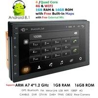Navigation 2 din car gps autoradio bluetooth radio car multimedia player 2din Cassette Recorder android 8.1 universal obd2 dab+