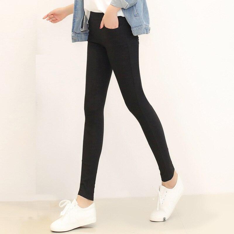 2018 Fashion Women Casual Slim Stretch Denim Jeans Leggings Jeggings Pencil Pants Thin Skinny Leggings Jeans Womens Clothing Hip