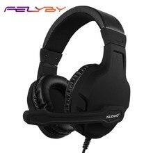 U3 jogo gaming headset baixo fones de ouvido do computador fone de ouvido