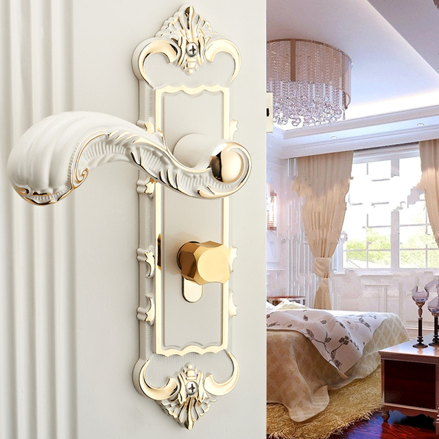 bedroom door lock popular type hardware handle door lock european bathroom 10413