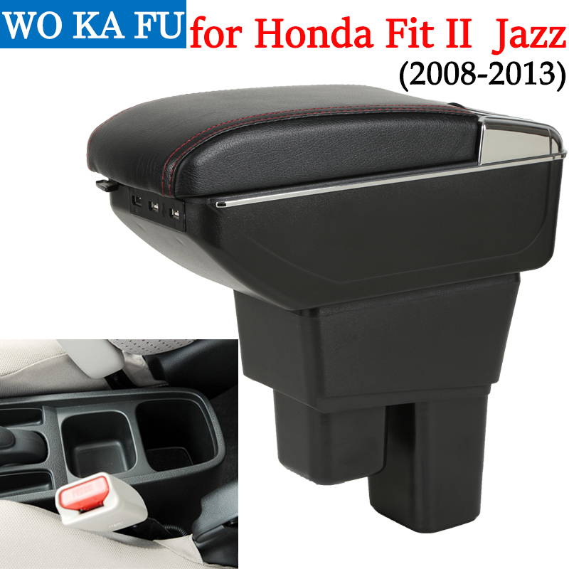 Honest For Honda Fit Ii Armrest Box Jazz/wrv Caja Universal Car Center Console Caja Modification Accessories Double Raised With Usb Refreshing And Beneficial To The Eyes Back To Search Resultsautomobiles & Motorcycles