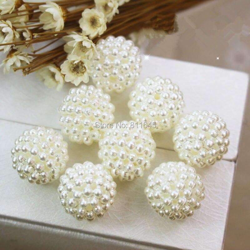 Νέα Γύρος Kawaii Χάντρες ABS Μαργαριτάρι - Κοσμήματα μόδας - Φωτογραφία 4