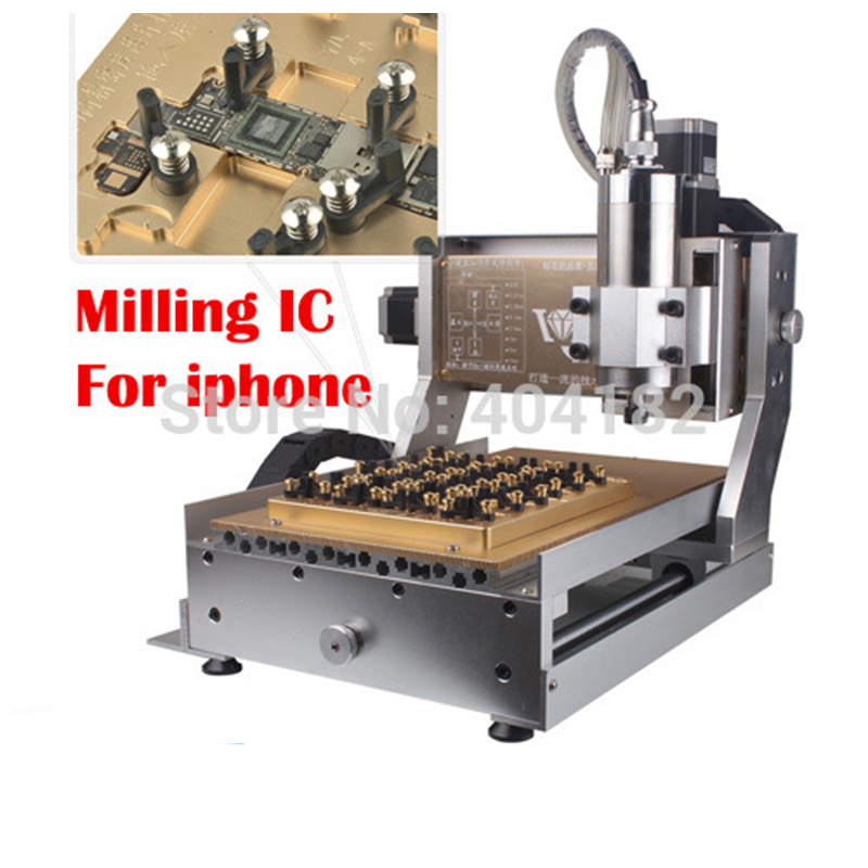 New Arrival ! CNC 3020 800W Grind Machine, Milling Engraving Machine for iPhone 4/4S/5/5S/5C/6/6Plus main Board IC Repair new arrival cnc 3020 800w grind machine milling engraving machine for iphone 4 4s 5 5s 5c 6 6plus main board ic repair