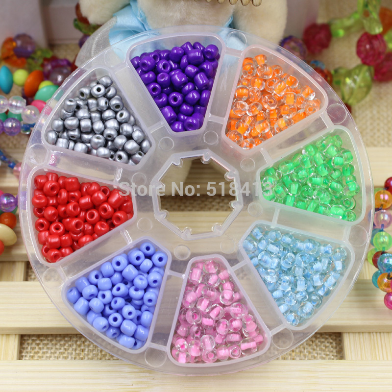 Colorful Diy Handmade Beaded Box Above 3 Years Old In Kindergarten Girl Baby Educational Children Girls Lovely Toys Suit Gift