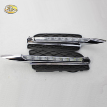 SNCN LED Daytime Running Lights for BMW X5 E70 2007 2008 2009 2010 DRL Fog lamp driving lights цена