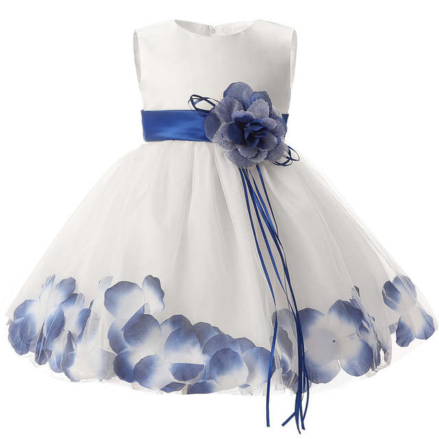 a393aff40b64 Online Shop Baby Girl First Birthday Outfits Flower Girl Party Wear ...