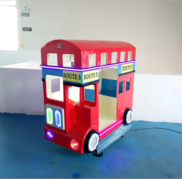coin operated kiddie ride on toy cars,kids Swing Machine,London Bus for kiddy ride