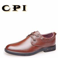 CPI 2018 Nowy Wiosną i jesienią mężczyzna przypadkowych butów Mężczyzna Oxford Buty Lace Up Business Casual Wygodne Mężczyzn Buty PP-190