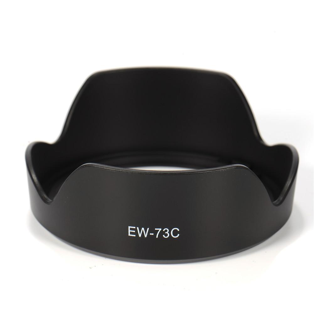 Reversable <font><b>EW</b></font>-<font><b>73C</b></font> <font><b>Lens</b></font> <font><b>Hood</b></font> for Camera Mount Suitable for Canon EF-S 10-18mm f/4.5-5.6 IS STM <font><b>Lens</b></font> image