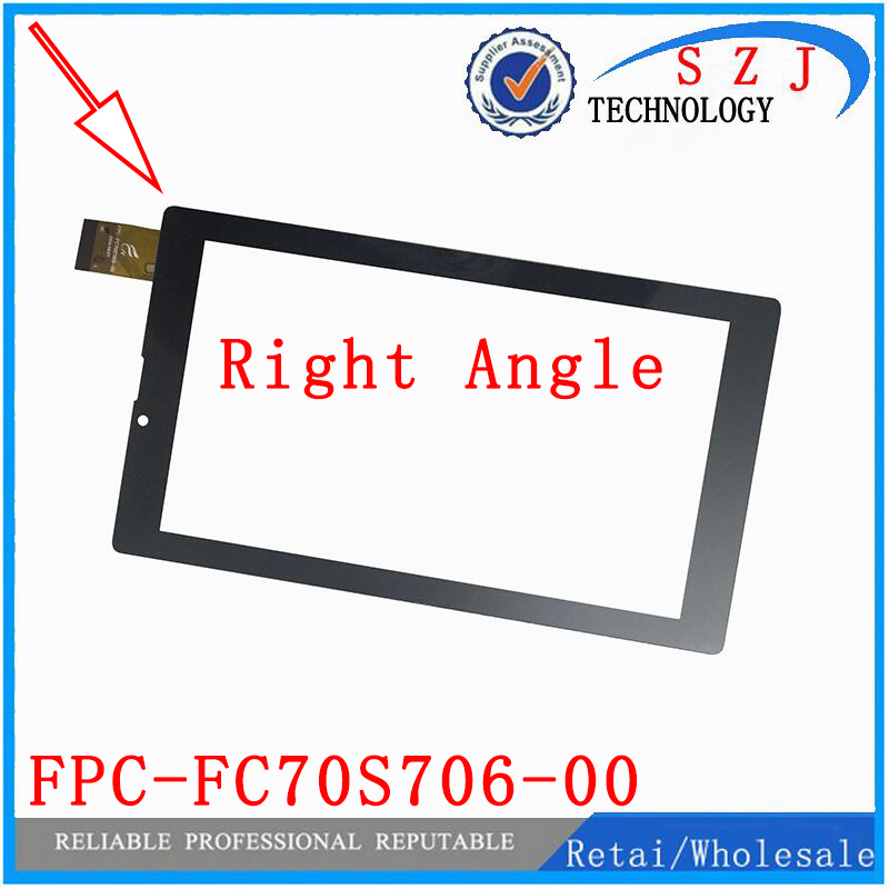 New 7 inch Rectangular touch screen panel digitizer Tablet FPC-FC70S706-00 FPC-FC70S706-01 Sensor Glass Free Shipping 10pcs/lot 10pcs lot new 7 fpc fc70s786 02 fhx touch screen panel tablet digitizer glass sensor fpc fc70s786 00 replacement free shippin
