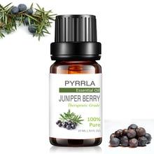 Pyrrla 10ml Juniper Berry Pure Essential Oils For Aromathera