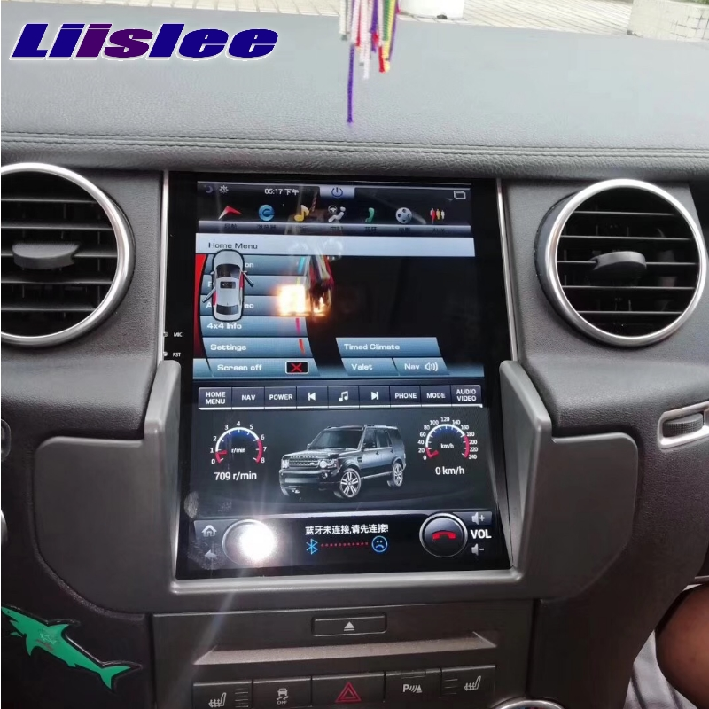 For Land Rover Discovery 4 L319 For Range Rover NAVI 2G RAM LiisLee Car Multimedia GPS 10.4 WIFI Audio CarPlay Radio Navigation