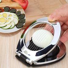 Stainless Steel Boiled Egg Slicer Press Cut Wedges Fruits Slicing Strawberry Cheese Section Cutter Quick Cutting Tool