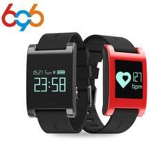 Microwear DM68 Pulseira Smartband Bluetooth4.0 Inteligente Sono Rastreador Pulseira monitor de freqüência cardíaca À Prova D' Água IP67 para Android iOS