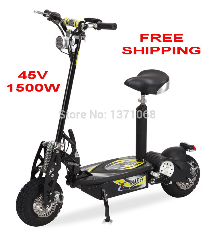 So07 hot sale 48v 1500w high quality mini foldable for Motorized scooter for kids