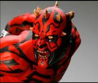 Free shipping Party Cosplay Movie Darth Maul mask costume of party horror latex full head mask halloween Horror Face mask