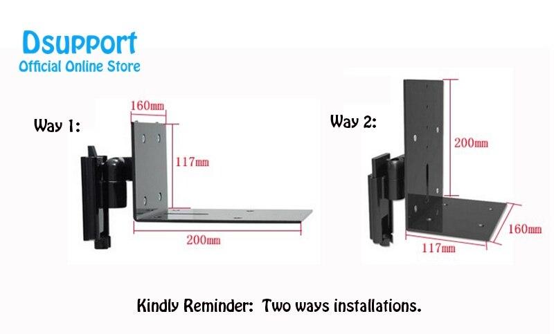alto-falante de áudio, suporte de pendurar, fácil instalação, s01