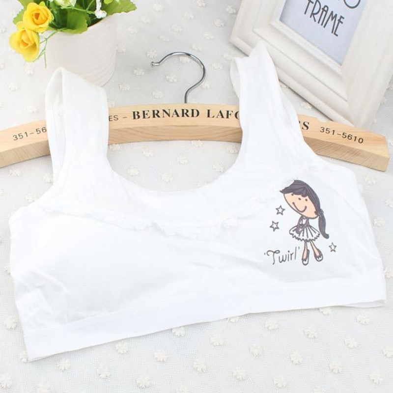 311e1214603 Detail Feedback Questions about Teenage Girls Underwear Cotton Bra Intimates  For Kids Girl Children Young Cute Printing Small Bra Tube Tops Teens Undies  ...