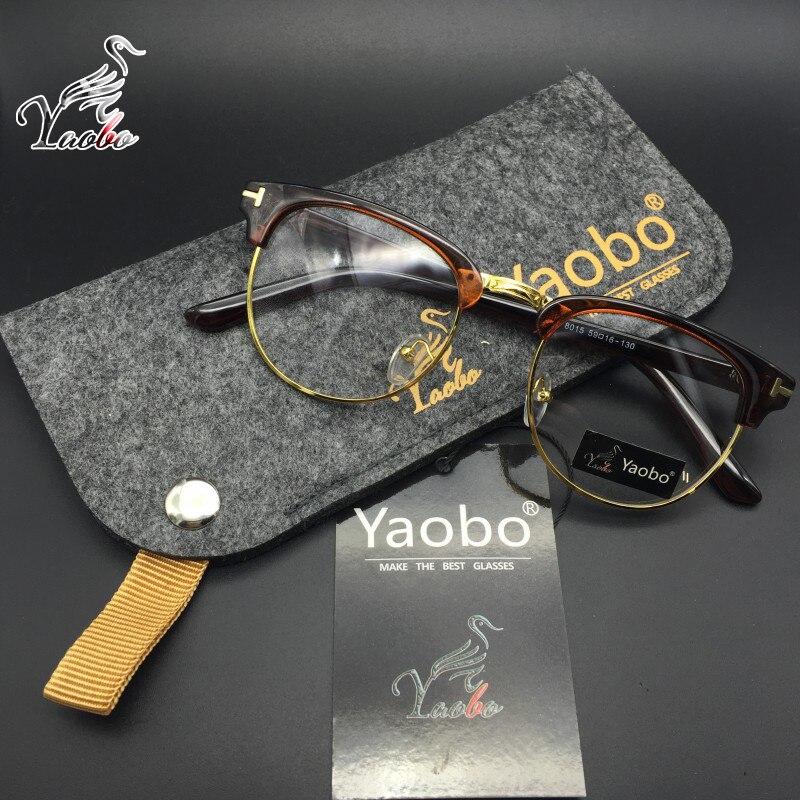 Yaobo Klassische Retro Klare Linse Nerd Rahmen Brille Fashion New ...