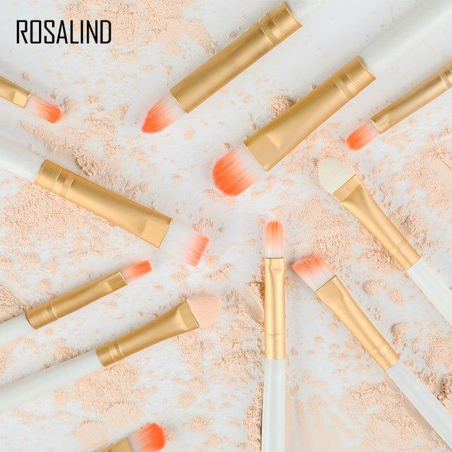 ROSALIND Makeup Brushes 20Pcs Professional Set Powder Foundation Eyeshadow Make Up Brushes Cosmetics Soft Synthetic Hair 5