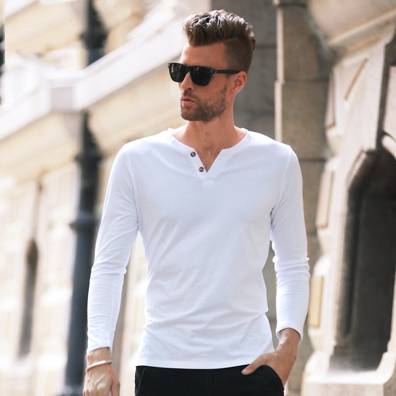 Mens Summer Long Sleeve Shirts Artee Shirt