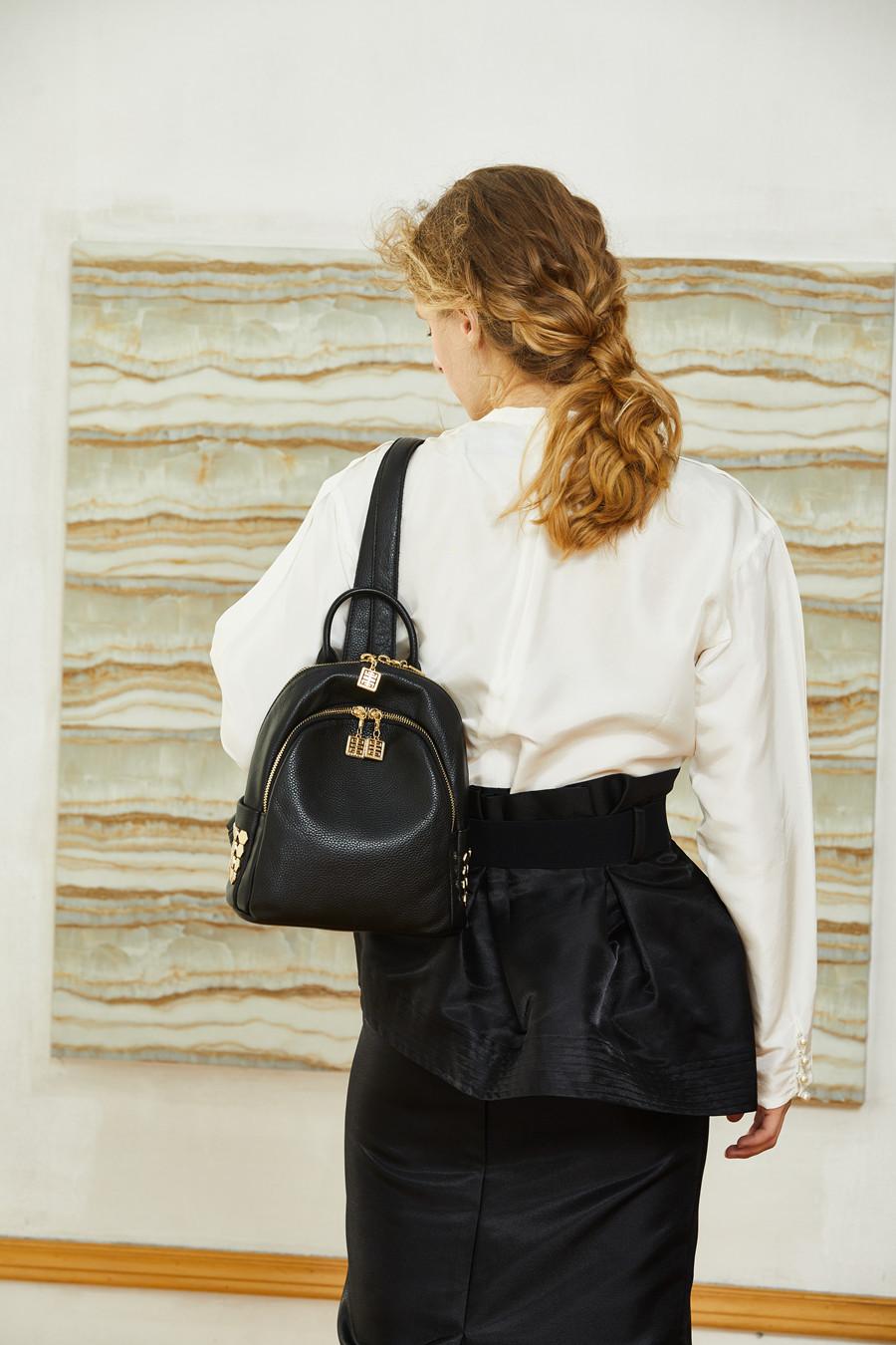 1111BOYATU Designer Backpack Super Zipper Luxury Genuine Leather Backpack Women 2017 Original Muchila Obag Sack Mochila Feminina
